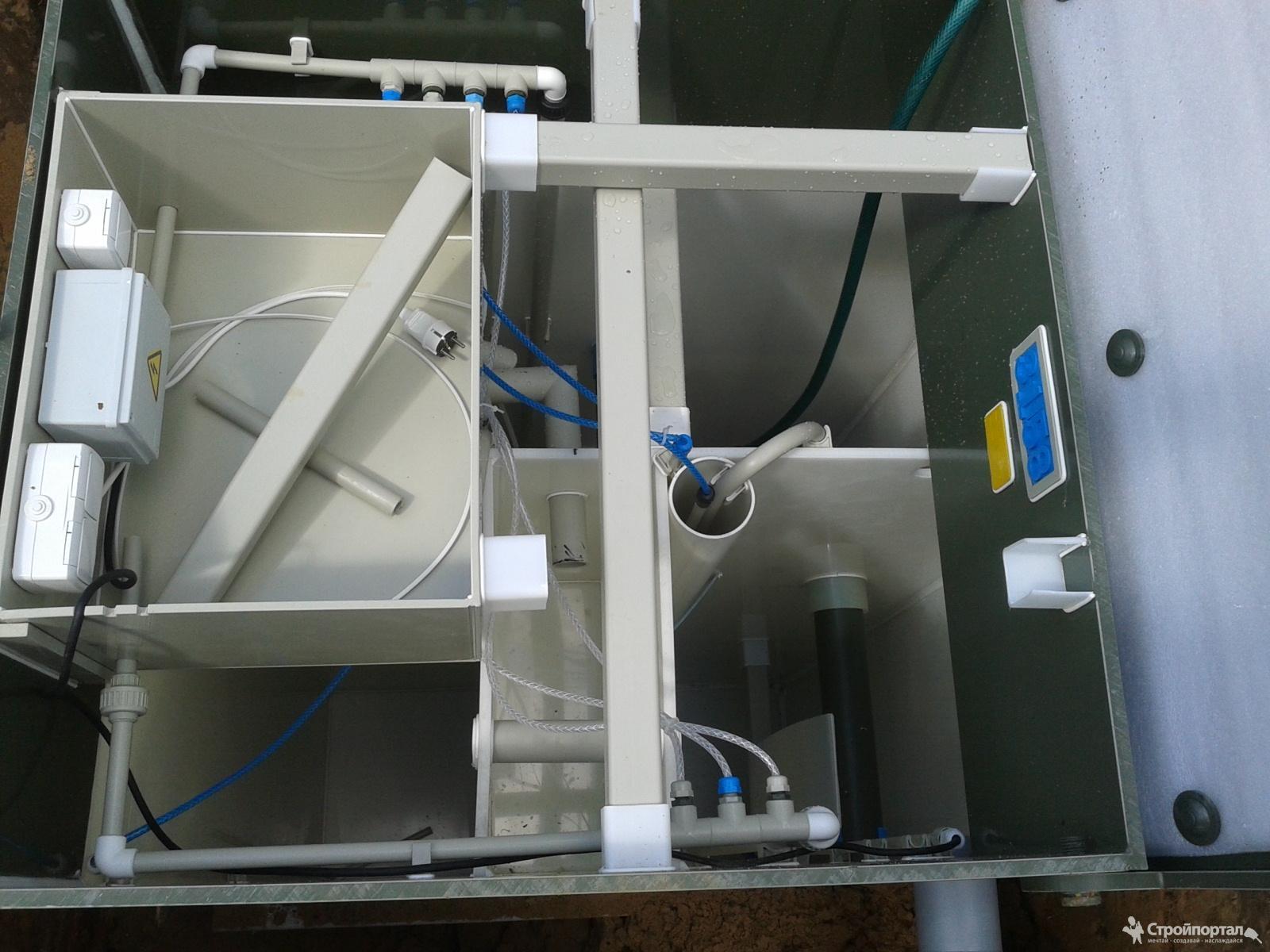 Устройство септика и автономной канализации Эко-гранд